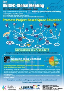The Mission Idea Contest flyer